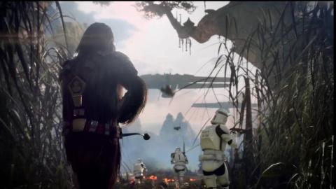 Трейлер звёздных войн в Star…