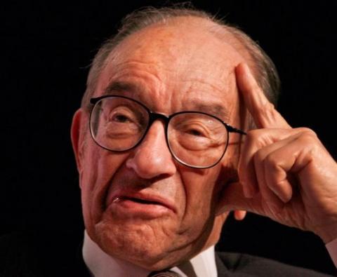 Экс-глава ФРС А. Гринспен пр…