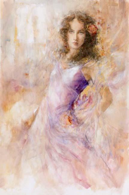 Прекрасный образ женщины в картинах Gary Benfield