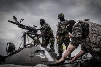 ДНР: Нацгвардия и «Азов» пон…