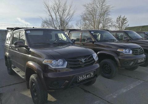 Мотострелковый батальон 30-й мотострелковой бригады оснащен автомобилями УАЗ «Патриот»