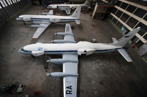 ОАК сдала Минобороны опытный самолёт разведки и постановки помех Ил-22ПП
