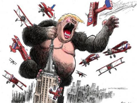 Западные карикатуры: о политике и не только