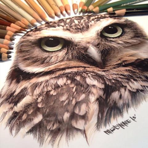 Гиперреализм с помощью карандаша и красок