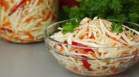 Вкусный салат на каждый день…