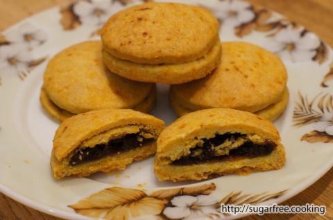 Тыквенное печенье с начинкой