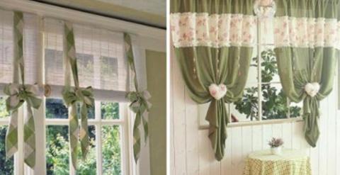 20 способов украсить окно шт…