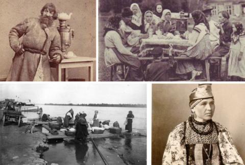 Старинные фото о русском кос…