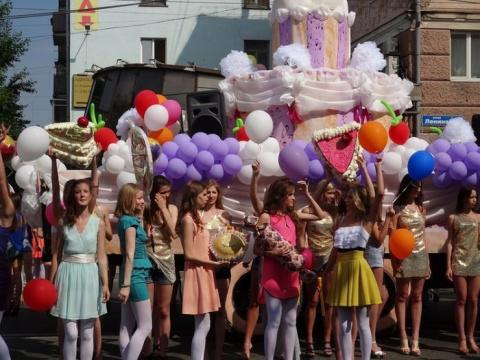 Карнавал в Перми