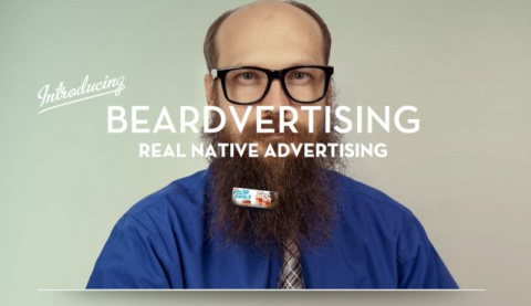 Американцы размещают рекламу на бородах