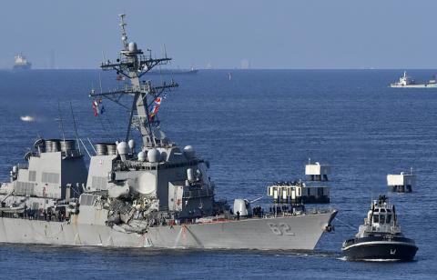 Военный флот США поплатился …