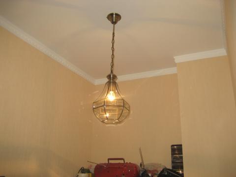 Как украсить лампу - посоветуйте