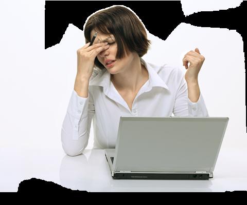 Когда глаза устают от работы за компьютером