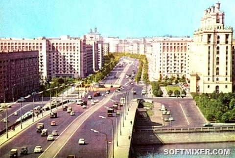 Москва середины 1960-х.