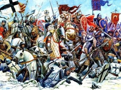 Почему русские всегда побеждали тевтонских рыцарей