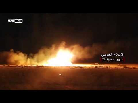 Сирийская армия наступает на ИГИЛ*, отгоняя террористов к границе с Ираком