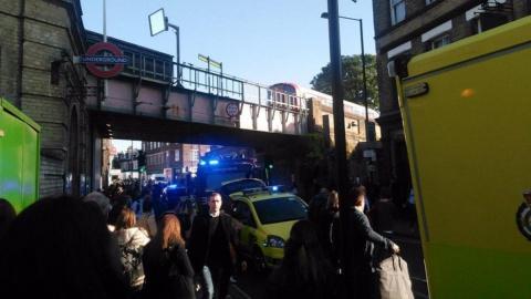 В лондонском метро прогремел взрыв