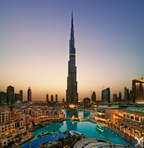 Завораживающие виды Дубая с …