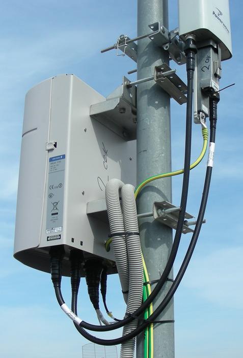 Часть распределённой базовой станции - энергосберегающие технологии на практике