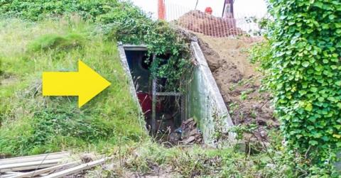 Девушка купила старый бункер и сотворила с ним невероятное