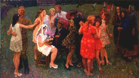Любимая замуж выходит