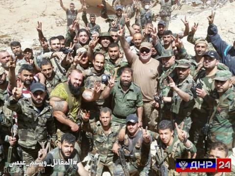 Армия Сирии освободила город Кабун
