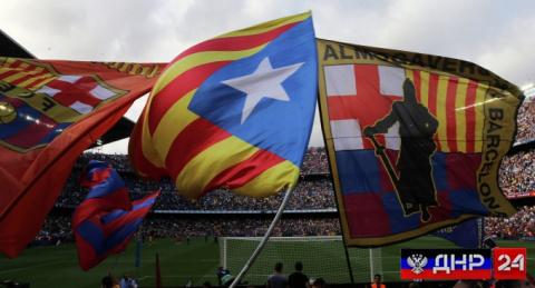 """Футбольный клуб """"Барселона"""" присоединится к борьбе за независимость Каталонии"""
