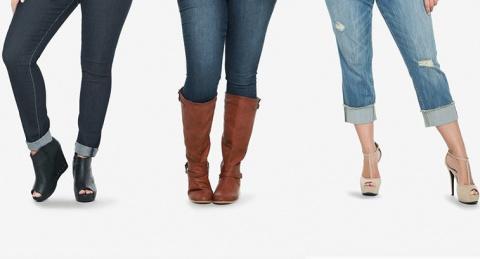 Как подбирать обувь крупным женщинам