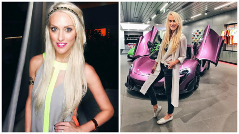 Блондинка на суперкаре: из австралийской глубинки