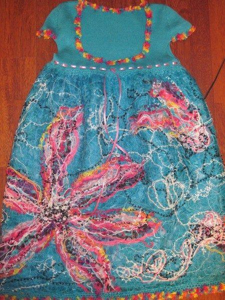 Платье «Бирюзовая мечта» в т…