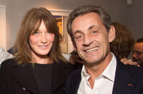 Карла Бруни и Николя Саркози…