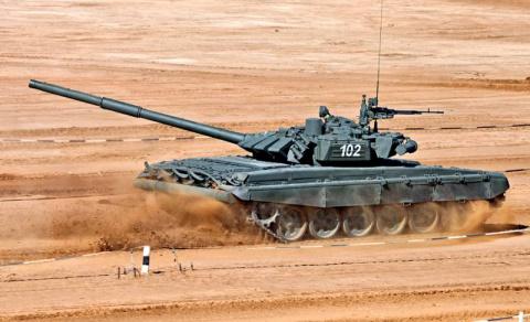 Основной боевой танк Т-72Б. …