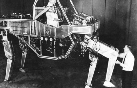 10 невообразимых транспортных средств ХХ века