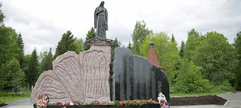Мемориал памяти погибших в концлагерях Петрозаводска открыли в День города