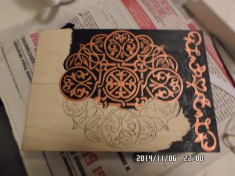 Роспись деревянные шкатулки