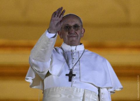 Папа Римский собирает деньги…
