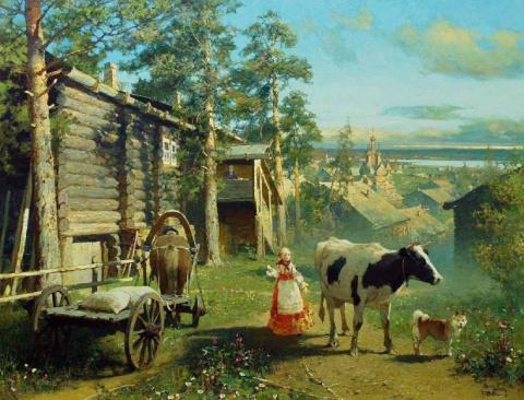 С любовью к родному краю - живопись Юрия Васендина