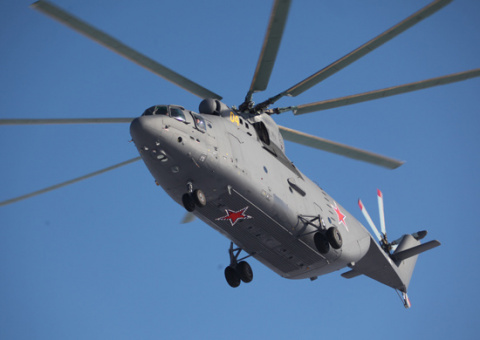 Завершена приемка транспортного вертолета Ми-26 для авиасоединения ВВО в Хабаровском крае