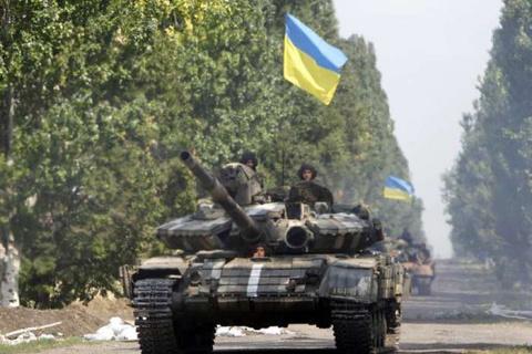 Киевская хунта пробует броса…