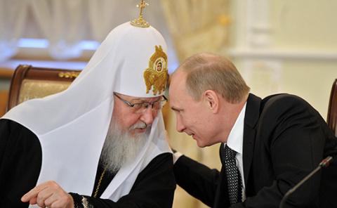 Патриарх Кирилл сыграл решаю…