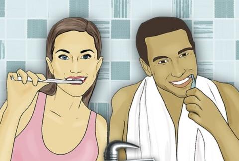 Когда нужно чистить зубы — д…