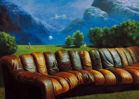 Симфония отдыха во время игры в гольф