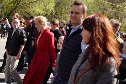 Навальный примазался к митингу против реновации