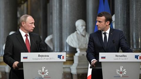 Как все было на самом деле. Фельетон на встречу Путина с Макроном