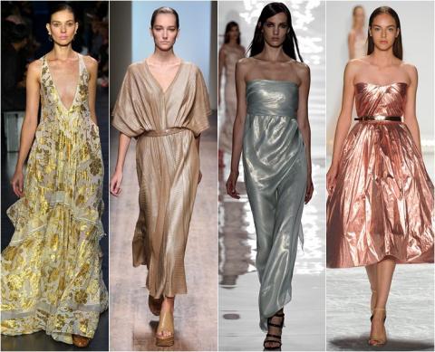Блестящие платья: как выбирать и носить
