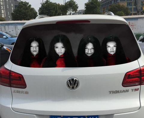 Стикеры на машины, «для» люб…
