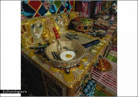 Кухня из бисера