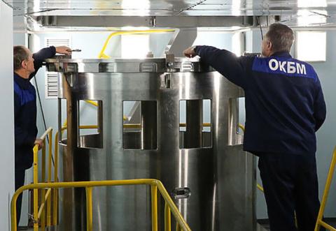 ОКБМ Африкантов изготовило партию оборудования реакторной установки РИТМ-200 для ледокола «Сибирь»