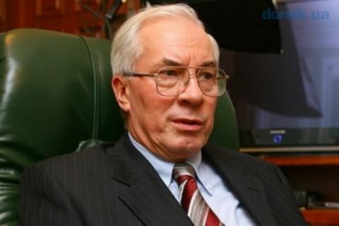 Азаров ответил Порошенко на слова о «немытой России»