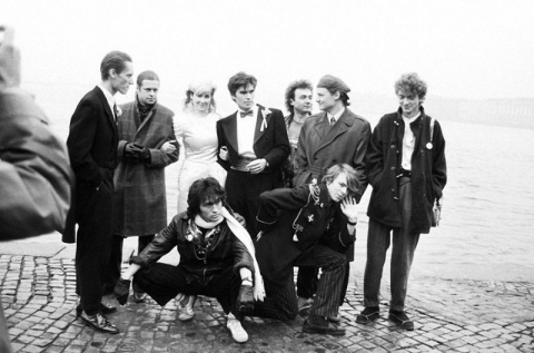 Свадебные фото советских рок-музыкантов